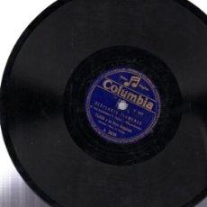 Discos de pizarra: DISCO DE PIZARRA, COLUMBIA, DESPLANTE FLAMENCO, TEJADA Y ORQUESTA, SEVILLANAS ANTIGUAS. Lote 31609873