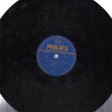Discos de pizarra: DISCO DE PIZARRA PHILIPS, TEMAS DE LA PELÍCULA CANDILEJAS, WALLY STOTT Y ORQUESTA. Lote 31609883