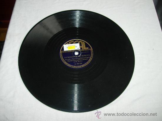FANDANGOS DE HUELVAROSARIO Y ANTONIO(PALILLOS Y TACONEO) MANOLO MANZANILLA(CANTAOR) ACOMP. GUITARRA (Música - Discos - Pizarra - Flamenco, Canción española y Cuplé)