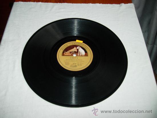 SAETA POR LA NIÑA DE LOS PEINES CON ACOMP DE BANDAS Y TAMBORES (Música - Discos - Pizarra - Flamenco, Canción española y Cuplé)