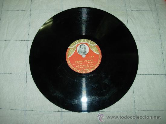 """TRISTE VERDAD (M. RUIZ ARMENGOL) BOLERO CORNET ELVIRA RIOS ORQUESTA """"CASABLANCA"""" DE MADRID (Música - Discos - Pizarra - Flamenco, Canción española y Cuplé)"""