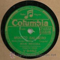 Discos de pizarra: MARY BEGOÑA PIZARRA (78 RPM.) SELLO COLUMBIA . Lote 31775978