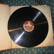 Discos de pizarra: ANTIGUO ALBUM CON 12 DISCOS PIZARRA GRABADO CON LAS MEJORES ORQUESTAS DE ALEMANIA- AÑO 1920-30-. Lote 31902702