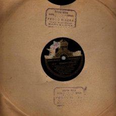 Schellackplatten - ANTIGUO DISCO PIZARRA MARICRUZ IMPERIO ARGENTINA PASODOBLE - 31987528