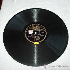 """Discos de pizarra: EL SOBRE VERDE (J. GUERRERO) """"SCHOTTISSH"""" """"LA CARÇONA"""" MANUEL RAMOS (SOLO DE ORGANILLO). Lote 32058948"""
