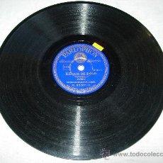 Discos de pizarra: JUEGOS DE POLO(O.FETRAS) FOXTROT ORQUESTA SAXOFON DOBBRI. Lote 32096229