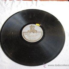 """Discos de pizarra: SEGUIDILLAS """"DESGRACIADO SOY """" MANUEL VALLEJO ACOMP. DE GUITARRA MIGUEL BORRULL. Lote 32096600"""