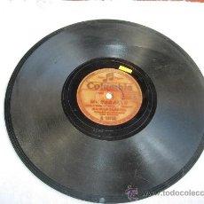 """Discos de pizarra: MI CABALLO """"BULERIAS"""" MANOLO CARACOL ACOMP GUITARRA POR EL NIÑO RICARDO. Lote 32096775"""
