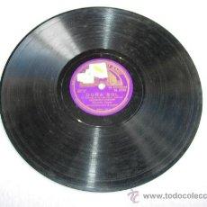 Discos de pizarra: DOÑA SOL (S. VALVERDE, R. DE LEON Y M. L. QUIROGA) PASODOBLE-CANCION CONCHITA PIQUER CON ACOMP. DE O. Lote 32105272