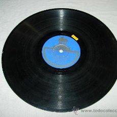 """Discos de pizarra: FANDANGO """"SI YO YA NO TENGO QUIEN ME CONSUELE""""""""QUE ESTA LA CASA VACIA"""" EL AMERICANO ACOMP. GUITARRA . Lote 32105368"""