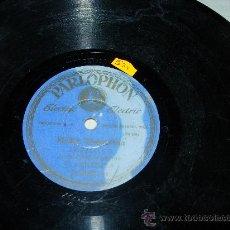 Discos de pizarra: MEDIA GRANADINA ANGELILLO ACOMPAÑADO DE GUITARRA EL HABICHUELA. Lote 32105398