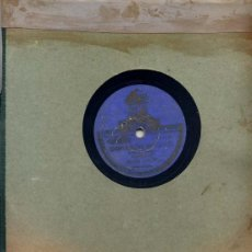 Discos de pizarra: BANDA ODEON / CORAZÓN GITANO + 1 (PASODOLES) ODEON 132.482. Lote 32268216