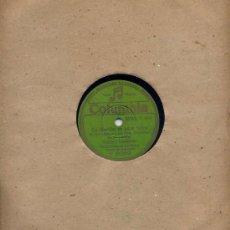 Discos de pizarra: ORQUESTA CASABLANCA / LA MARCHA ES PARA TODOS (CANTANDO POR JOSÉ MORO) + 1 (COLUMBIA V 9059). Lote 32268706