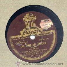 Discos de pizarra: BANDA MUNICIPAL DE MADRID / ALBORADA GALLEGA / LAS HIJAS DEL ZEBEDEO (ODEON 121.031) 12 PULGADAS. Lote 32299566