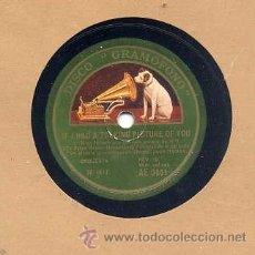 Discos de pizarra: JACK HYLTON / SI YO TUVIERA UNA PELICULA SONORA DE TI / ENCHUFA LA CALEFACCIÓN (GRAMÓFONO AE 3001). Lote 32640460