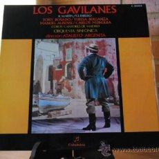 Discos de pizarra: LOS GAVILANES. Lote 32661359