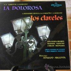Discos de pizarra: LA DOLOROSA Y LOS CLAVELES. Lote 32661388