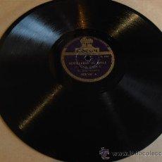 Discos de pizarra: DISCO DE PIZARRA, SEVILLANAS DE BAILE. Lote 32917562