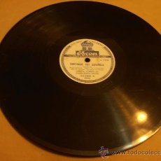 Discos de pizarra: DISCO DE PIZARRA, LOLITA TORRES, CANTANDO SOY ESPAÑOLA. Lote 32918130