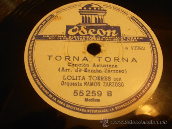 Discos de pizarra: DISCO DE PIZARRA, LOLITA TORRES, CANTANDO SOY ESPAÑOLA - Foto 4 - 32918130