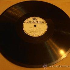 Discos de pizarra: DISCO DE PIZARRA, LANA BITTENCOURT, MALAGUEÑA. Lote 32918187