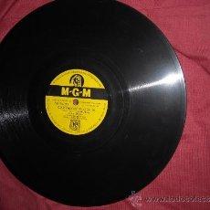 Discos de pizarra: LENA HORNE -ME SIENTO TIERNA- CIERTAMENTE QUE SI MGM 111 SPA. Lote 33049074