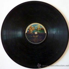 Discos de pizarra: PASTORA IMPERIO. DISCO DE PIZARRA 78 RPM. DISCO ODEON.. Lote 33080609