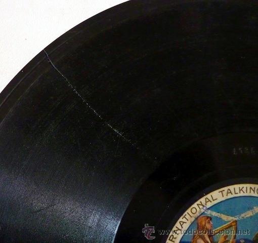 Discos de pizarra: Pastora Imperio. Disco de pizarra 78 RPM. Disco Odeon. - Foto 5 - 33080609