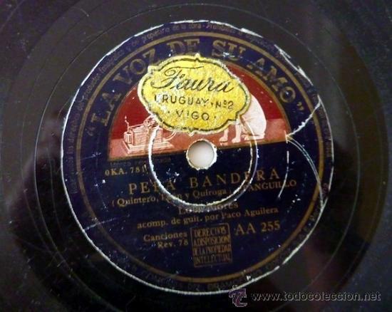 Discos de pizarra: Lola Flores. Disco de pizarra 78 RPM. La voz de su amo. - Foto 4 - 33080880