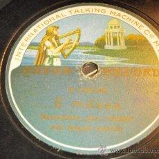 Discos de pizarra: HUMORISTEN JAN I GREBO ( NÄR JA SKULLE BLI KNECKT - E MÄSSA ) ODEON RECORD. Lote 33370642