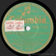 Discos de pizarra: TEJADA Y ORQUESTA - AURELIA BALLESTA / CONCHITA PAEZ - DOÑA MARIQUITA DE MI CORAZÓN - PIZARRA -A18-7. Lote 33379080