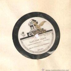 Discos de pizarra: MARIO VISCONTI Y SU ORQUESTA : CORAZON CORAZON + LLEVAME LEJOS . Lote 33471866