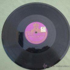 Discos de pizarra: DISCO DE PIZARRA -ODEON- ESTA NOCHE ME EMBORRACHO Y EL CARRERITO--CARLITOS GARDEL. Lote 33534407