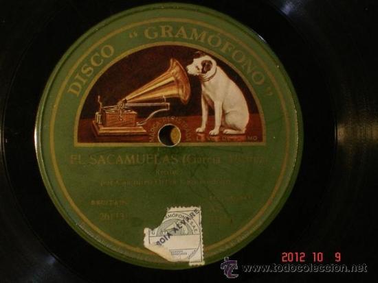 CASIMIRO ORTAS - EL SACAMUELAS (261131) / HAY QUE VER LAS BRONCAS DE GENARO Y SU MUJER (261132) (Música - Discos - Pizarra - Bandas Sonoras y Actores )