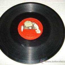 Discos de pizarra: DISCO DE PIZARRA DE UNA SOLA CARA RIGOLETTO ** MARIA GALVANY **. Lote 33841316