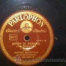 PIZARRA 78 RPM IMPERIO ARGENTINA PARLOPHON