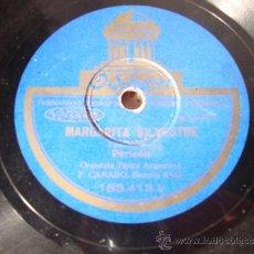 Discos de pizarra: ANTIGUO DISCO DE GRAMOFONO O GRAMOLA REALIZADO EN PIZARRA. PERICON. Lote 34092562