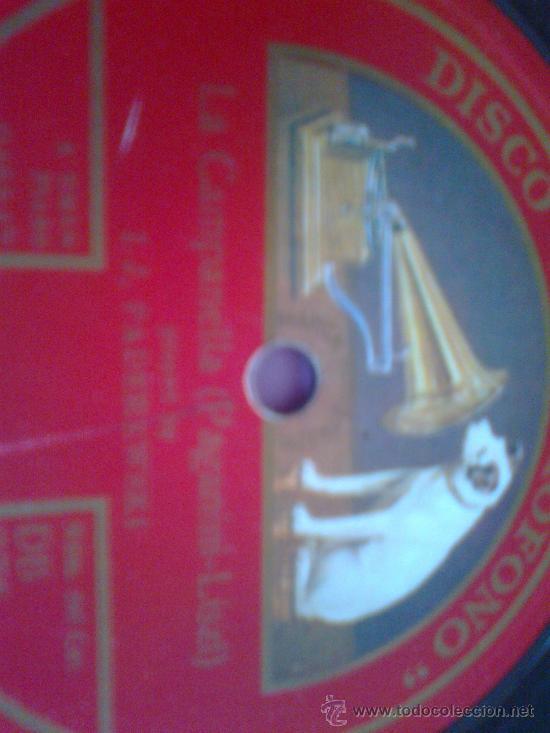 Discos de pizarra: DISCO DE PIZARRA LA VOZ DE SU AMO - Foto 2 - 34312459