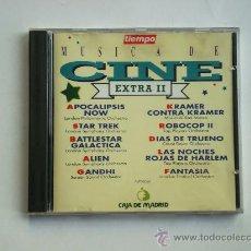 Discos de pizarra: MUSICA DE CINE EXTRA II - BANDA SONORA - 10 TEMAS - CD. Lote 34368261