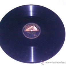 Discos de pizarra: ANDRES SEGOVIA, DISCO PIZARRA LA VOZ DE SU AMO . GAVOTTE, THEME VARIE (SOR) . Lote 34523683