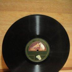 Discos de pizarra: GOYESCA - ( J. JIMENEZ ) BANDA MUNICIPAL DE BARCELONA - DISCO DE PIZARRA GRAMOFONO. Lote 34656487
