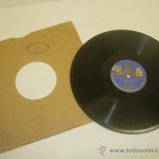 Discos de pizarra: DISCO DE PIZARRA ODEON VILLANCICO EN EL PORTAL DE BELEN-DALE A LA ZAMBOMBA-CORO INFANTIL MADRID. Lote 34941565