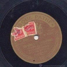 Discos de pizarra: CARMEN ARENAS: ME LO DIJO MI MARE + ESPAÑOLA Y VALENCIANA. Lote 35106073