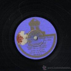 Discos de pizarra: DISCO DE PIZARRA 25 CM, ODEON. MALAGUEÑAS Y FANDANGUILLOS. NIÑO LA HUERTA, GUITARRA MANOLO DE BADAJ . Lote 35554737