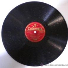 Discos de pizarra: DISCO DE PIZARRA,EDMUNDO ROS Y SU ORQUESTA CUBANA,ENSEÑAME-TAMPICO. Lote 35501494