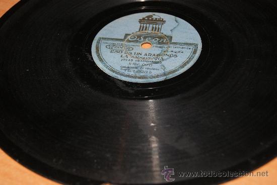 Discos de pizarra: DISCO DE PIZARRA JOTAS ARAGONESAS DE JOSE OTO/RARO - Foto 4 - 35737053