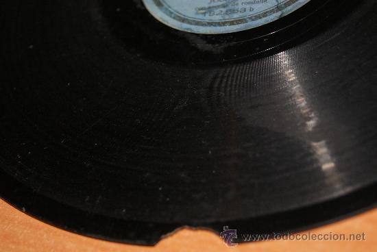 Discos de pizarra: DISCO DE PIZARRA JOTAS ARAGONESAS DE JOSE OTO/RARO - Foto 6 - 35737053