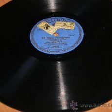 Discos de pizarra: DISCO DE PIZARRA DE VILLANCICOS CORO INFANTIL DE LAS ESCUELAS NACIONALES . Lote 72441019