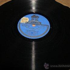 Discos de pizarra: DISCO DE PIZARRA CLAVELITO/PASODOBLE FLAMENCO ) Y BIENVENIDA . Lote 35773019