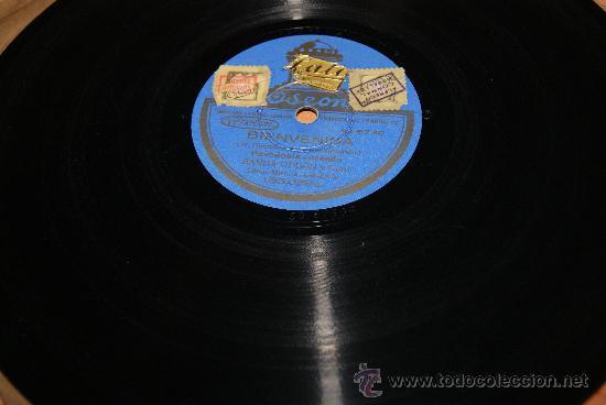 Discos de pizarra: DISCO DE PIZARRA CLAVELITO/PASODOBLE FLAMENCO ) Y BIENVENIDA - Foto 3 - 35773019